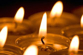 Candles light — Stock Photo