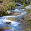 Cascade of mountain river — Stock Photo