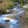 Stock Photo: Cascade of mountain river
