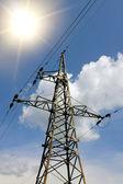 Hight Voltage column — Stock Photo