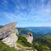素晴らしい山の風景 — ストック写真