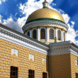 Cathedral cupola with cross — Stock Photo