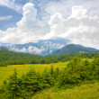 Carpathians mountain landscape — Stock Photo