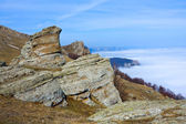 Rocks in mountains — Stock Photo