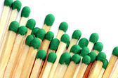 Group of wooden matches — Stock Photo