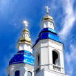 Stock Photo: Cathedral with cupolas