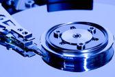 Datos de disco duro de ordenadores — Foto de Stock
