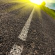Stock Photo: Road to sun