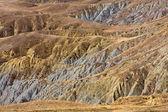 Result of soil erosion — Stock Photo