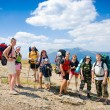 hikers — Stock Photo