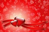 Láska pozadí — Stock fotografie