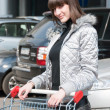 Royalty-Free Stock Photo: Pretty girl ready for shopping