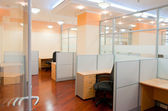 Modern office interior — Stock Photo