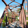 Stock Photo: railroad bridge