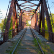Railroad bridge — Foto Stock