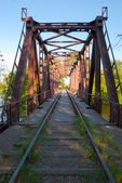 Railroad bridge — Foto de Stock