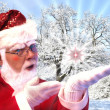 Magic for Christmas — Stock Photo