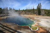 Yellowstone Park - West Thumb Geyser Ba — Stock Photo