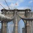 Brooklyn Bridge - New York City - Stock Photo