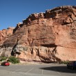 Wyoming Scenery - Red Rock Formation — Stock Photo #2774693