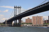 Manhattan Bridge - New York City — Stock Photo