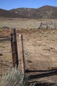 Rancho cerca - wyoming — Foto Stock