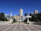 Denver Civic Center Park - Amphitheater — Stock Photo