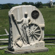 Stock Photo: Pennsylvania Battlefield - Gettysburg