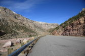 Wyoming Mountain Pass — Stock Photo