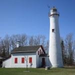 Lighthouse - Sturgeon Point, Michigan — Stock Photo