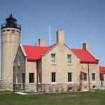 Lighthouse - Mackinac Point, Michigan — Stock Photo