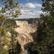 Grand Canyon of Yellowstone — Stock Photo