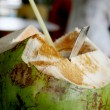 Stock Photo: Coconut drink