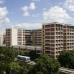 Singapore residential — Stock Photo