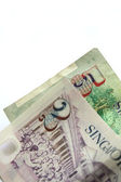 Singapore currency — Stock Photo