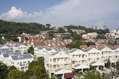 Singapur mieszkalnych — Zdjęcie stockowe