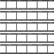 Traditional Film Strip — Imagen vectorial