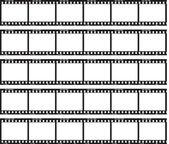 Tira de película tradicional — Vector de stock