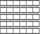 Traditional Film Strip — Vettoriale Stock