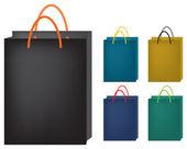 Papírové tašky — Stock vektor