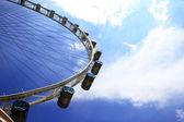 колесо обозрения сингапура — Стоковое фото