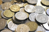 Singapore coins — Stock Photo