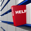 Help and solution concept — Stock Photo
