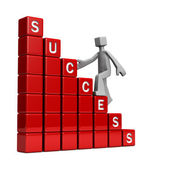 Way to success concept — Stock Photo