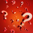 Question and problem concept — Stock Photo
