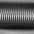Stock Photo: Abstract steel silver tube background