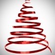 Christmas tree abstract design 3d rendered — Stock Photo