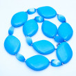 Blue Turquoise Beads — Stock Photo