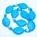 Blue Turquoise Beads — Stock Photo