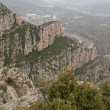 Kind from mountain Montserrat - Stock Photo